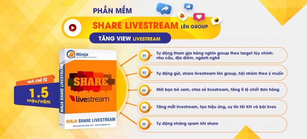 share livestream tu dong
