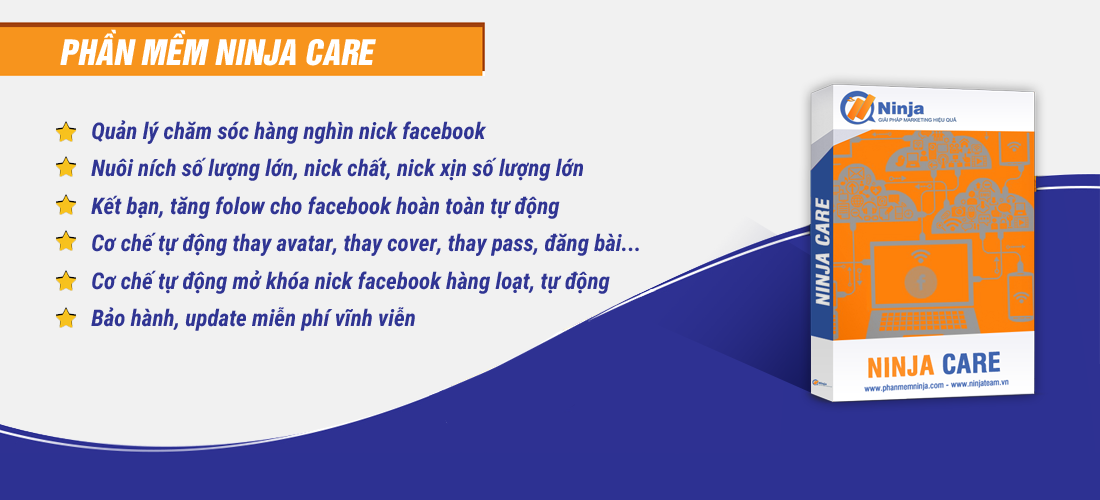 phan-mem-cham-soc-tai-khoan- facebook- ninja-care