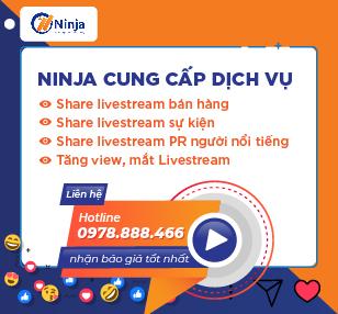 dịch vụ share livestream
